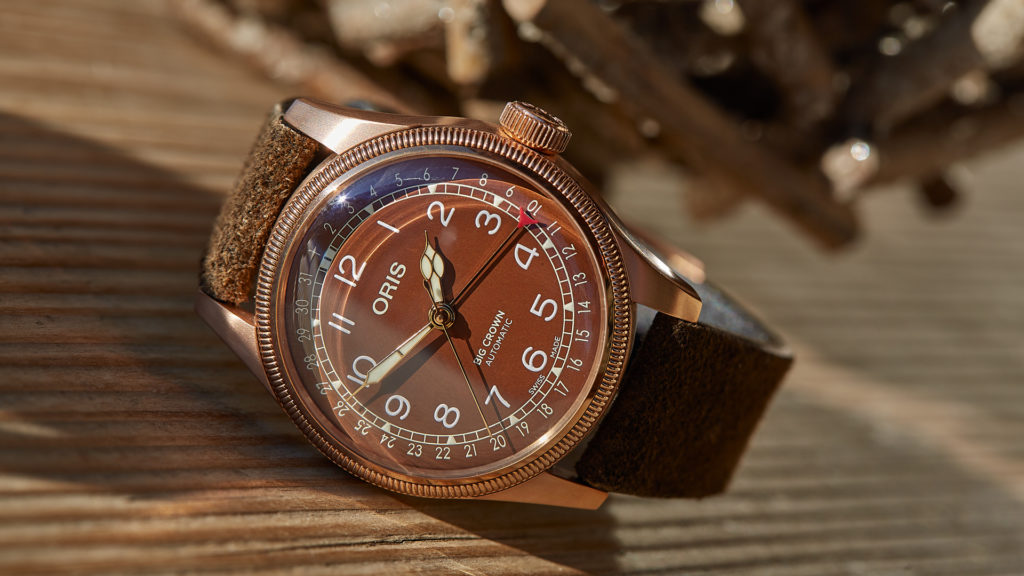 Bronze Armbanduhr