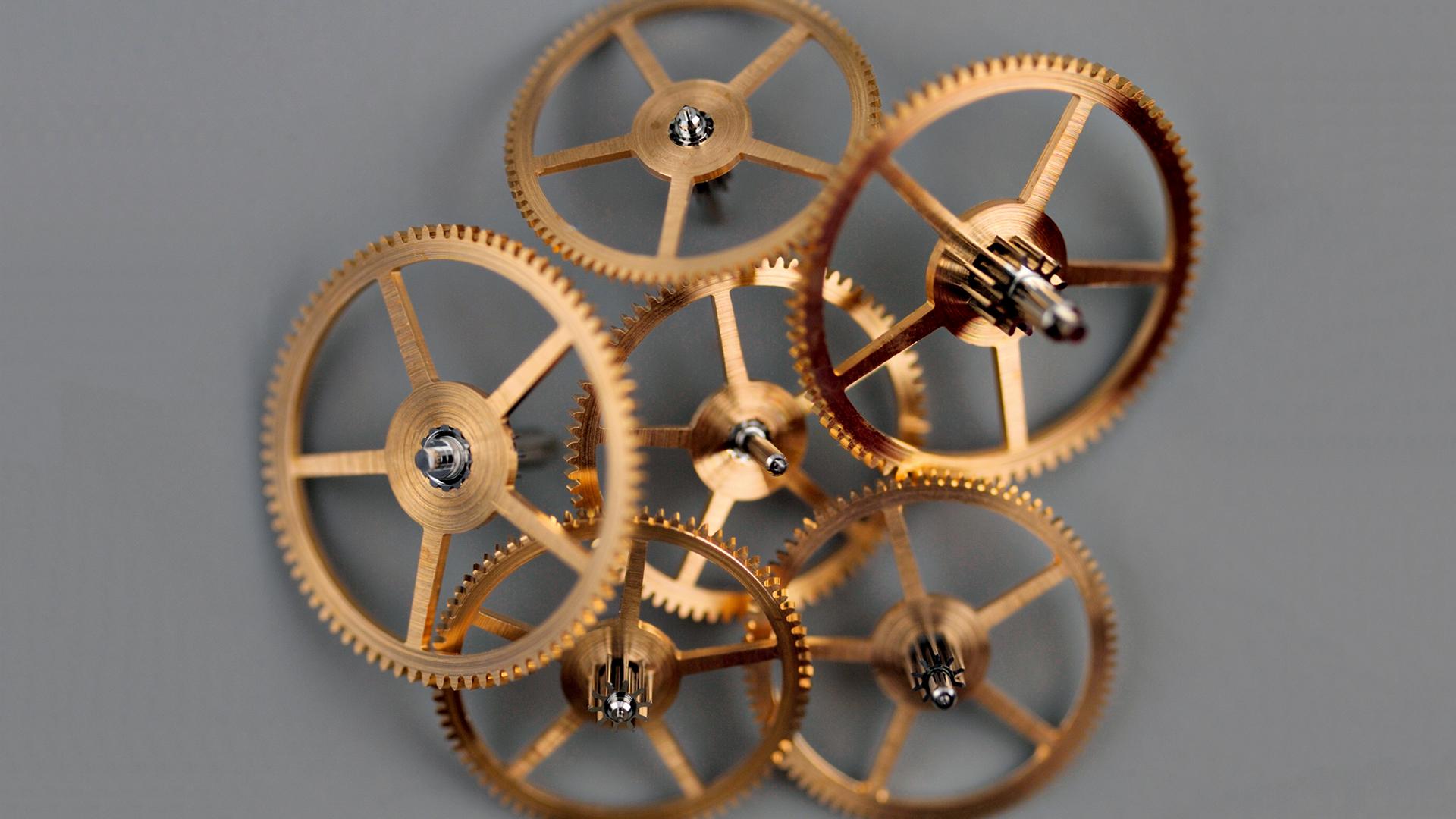 Räder aus Gold
