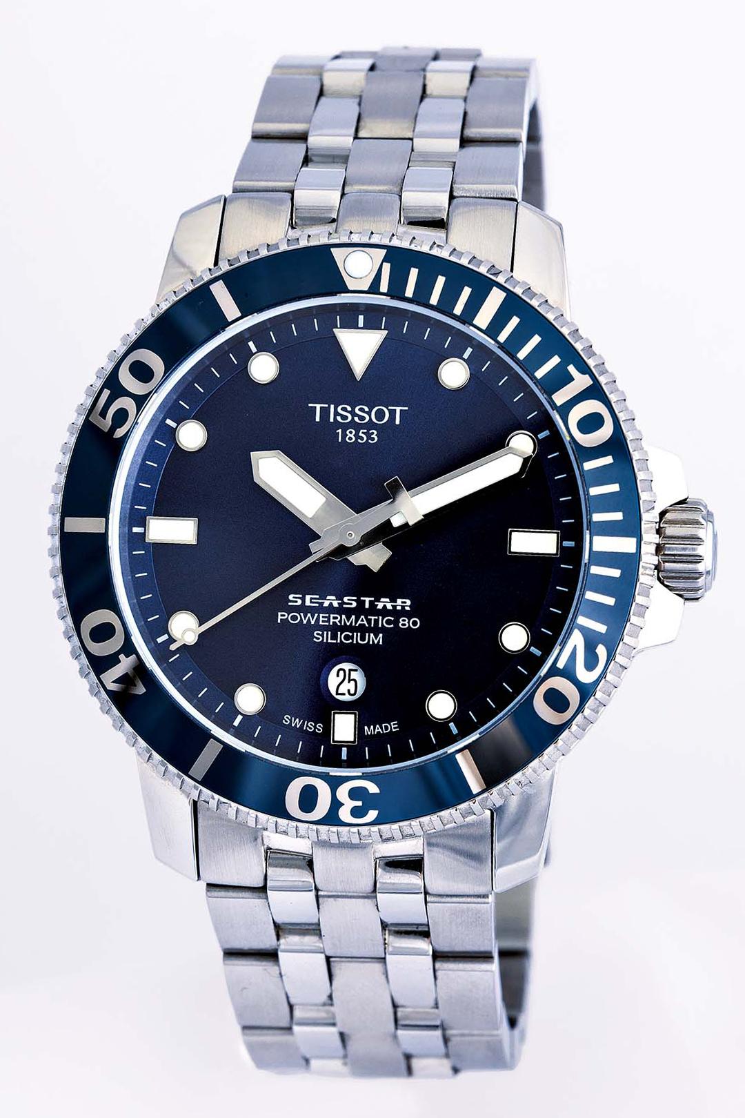 Tissot Seastar Front