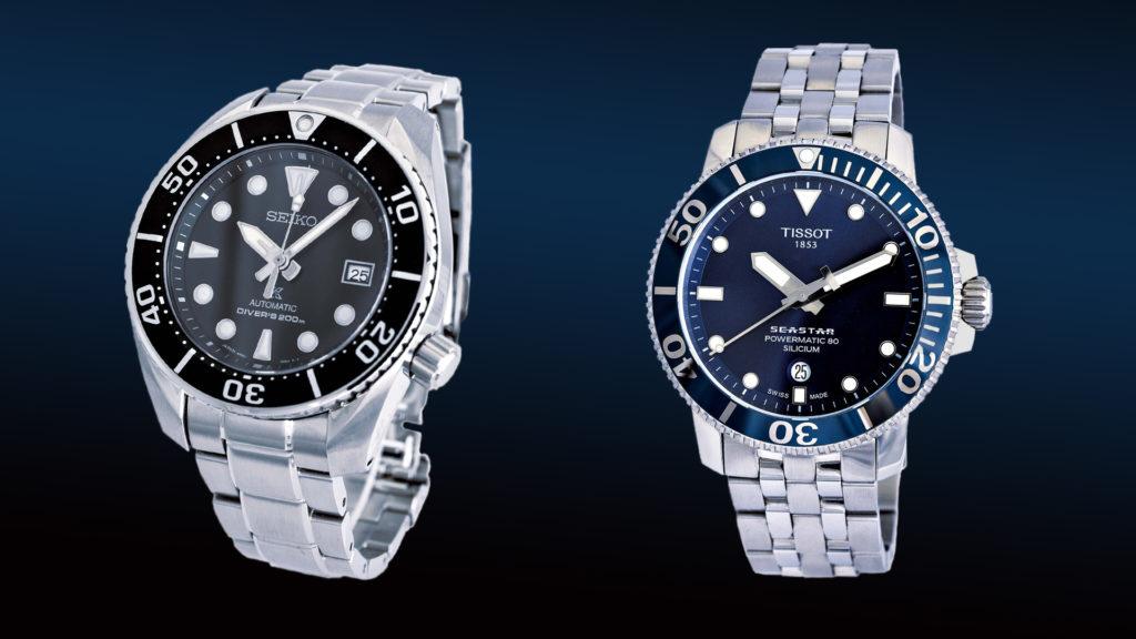 Seiko Prospex Automatic Diver's gegen Tissot Seastar