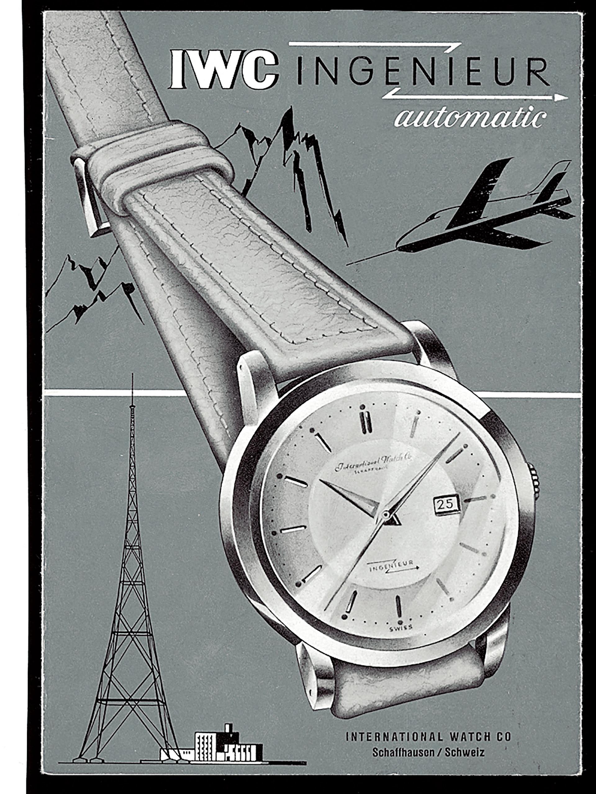IWC historische Werbung