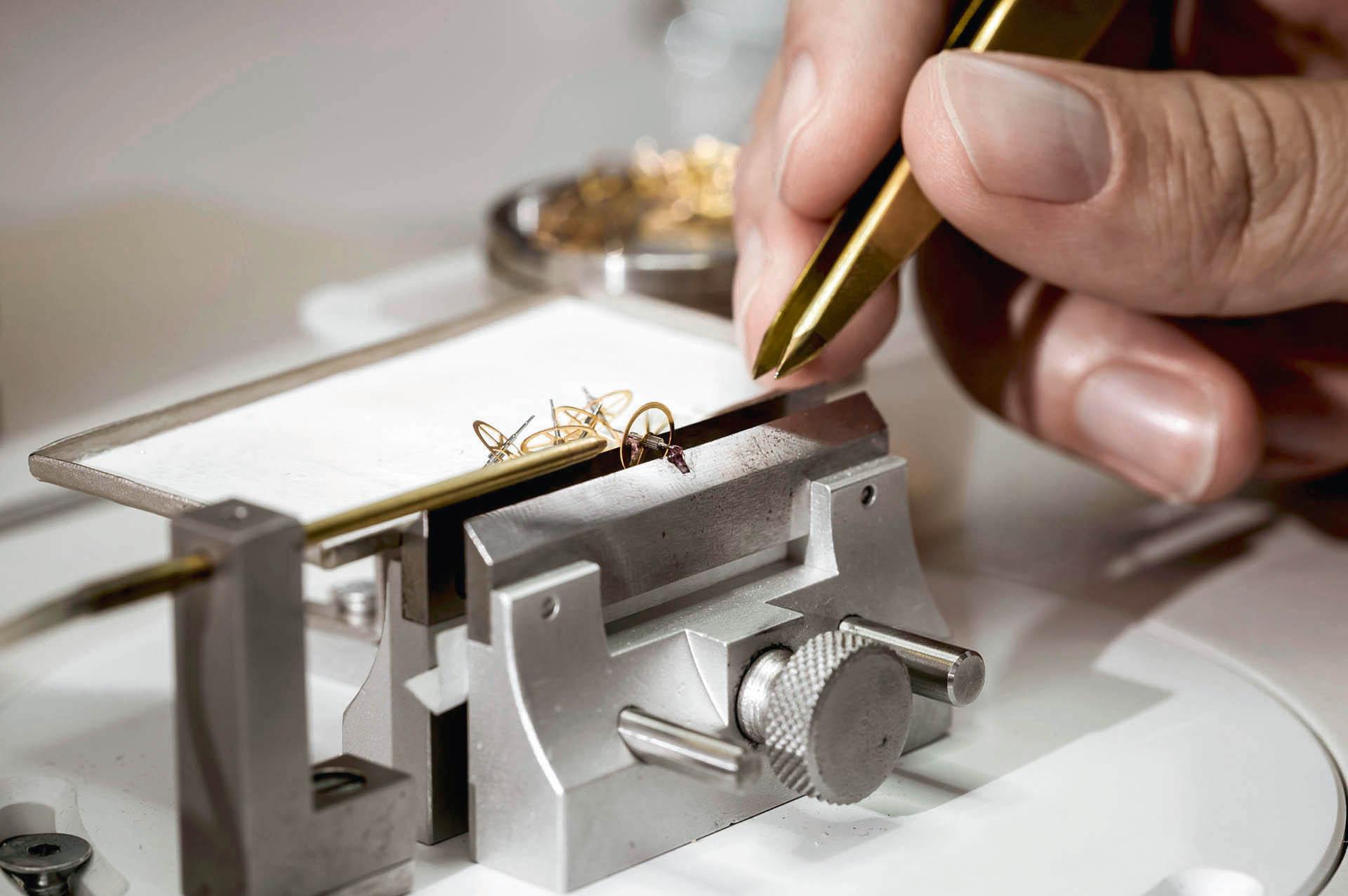 Glashütte Original Zahnräder Herstellung
