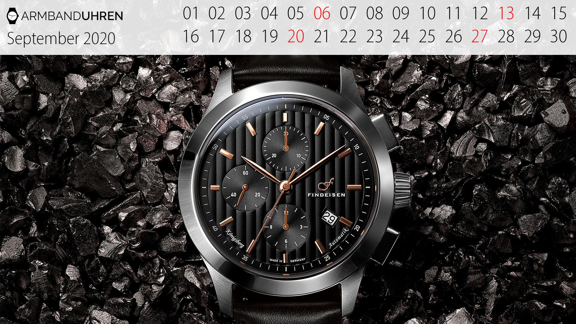 Findeisen-Königsberg Uhr des Monats September 2020
