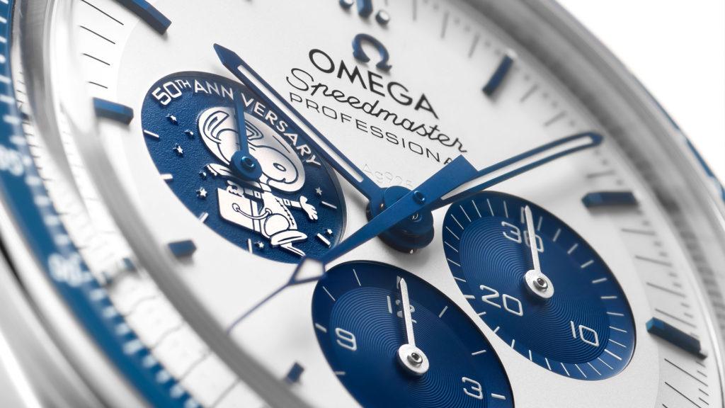 Omega Speedmaster Ziffernblatt