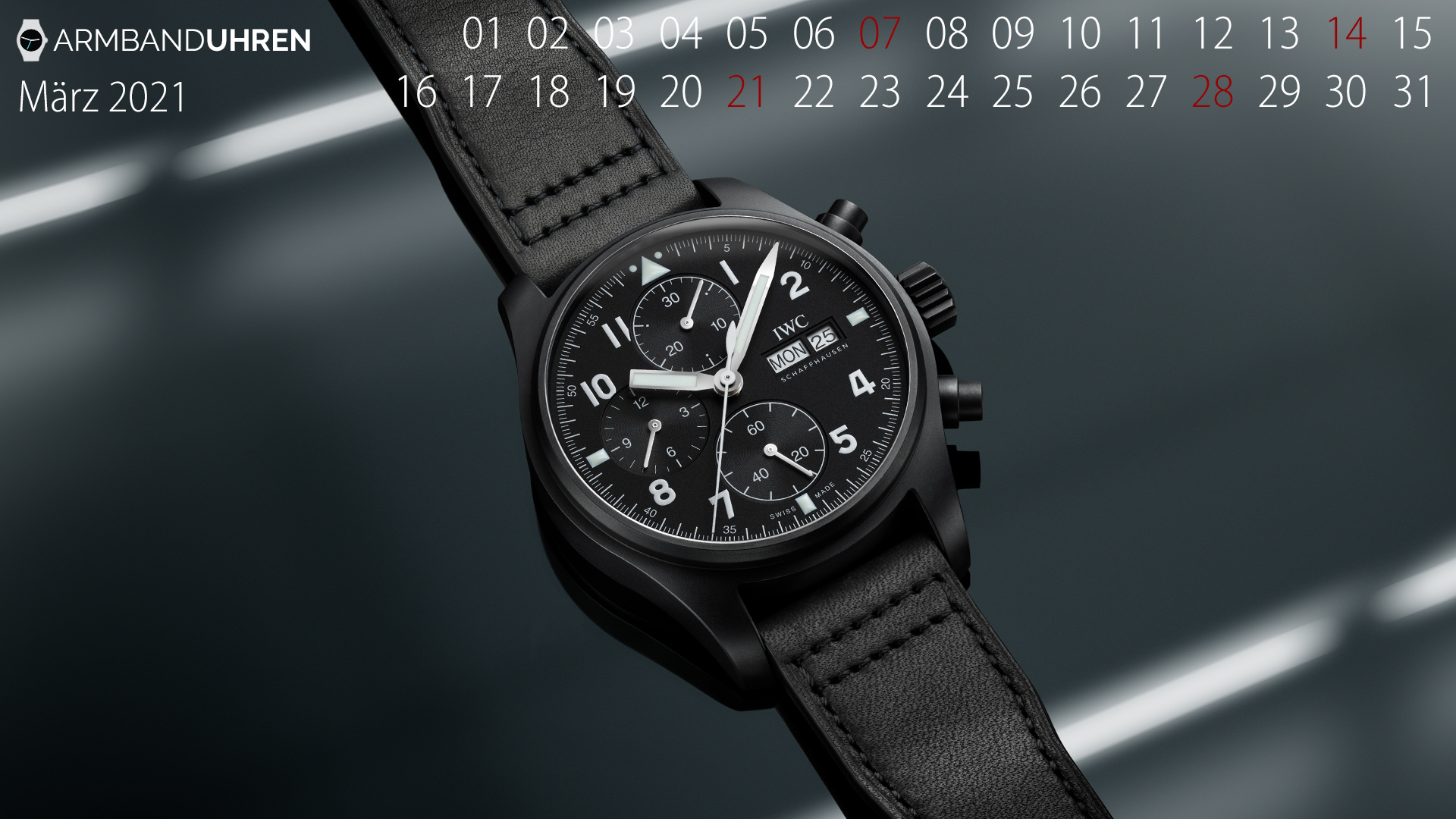IWC_UHR_DES_MONATS_Maerz2021_PILOTS WATCH CHRONOGRAPH TRIBUTE TO 3705_IW387905
