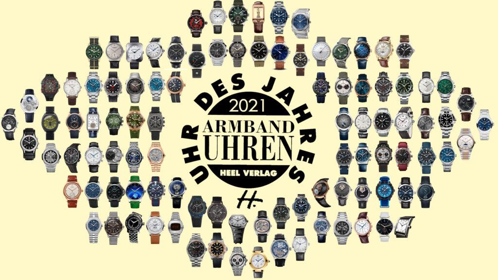 Wahl Uhr des Jahres 2021