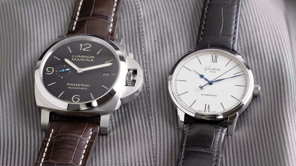 Glashütte Original Senator Excellence vs. Panerai Luminor Marina