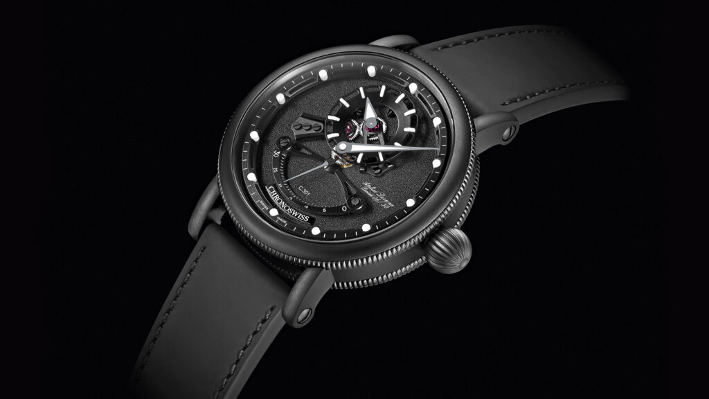 Chronoswiss Open Gear ReSec «Black Ice»