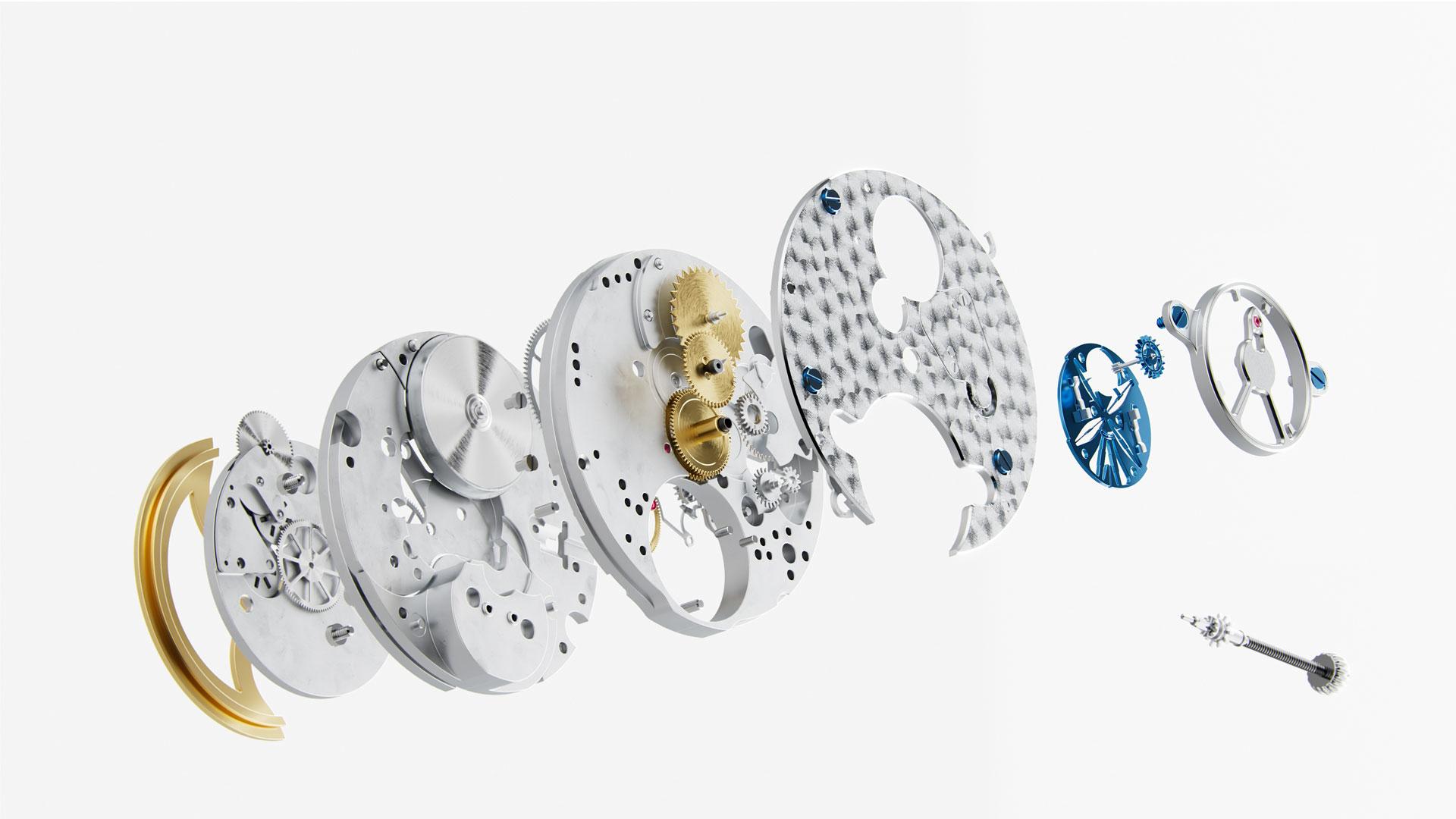 Frederique-Constant Slimline Monolithic Manufacture