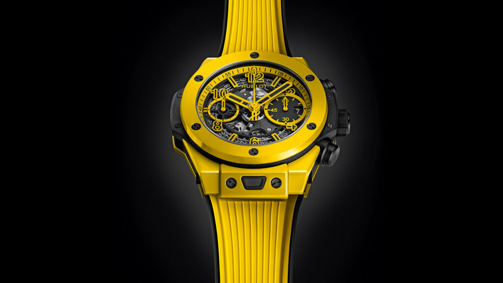 Big Bang Unico Yellow Magic