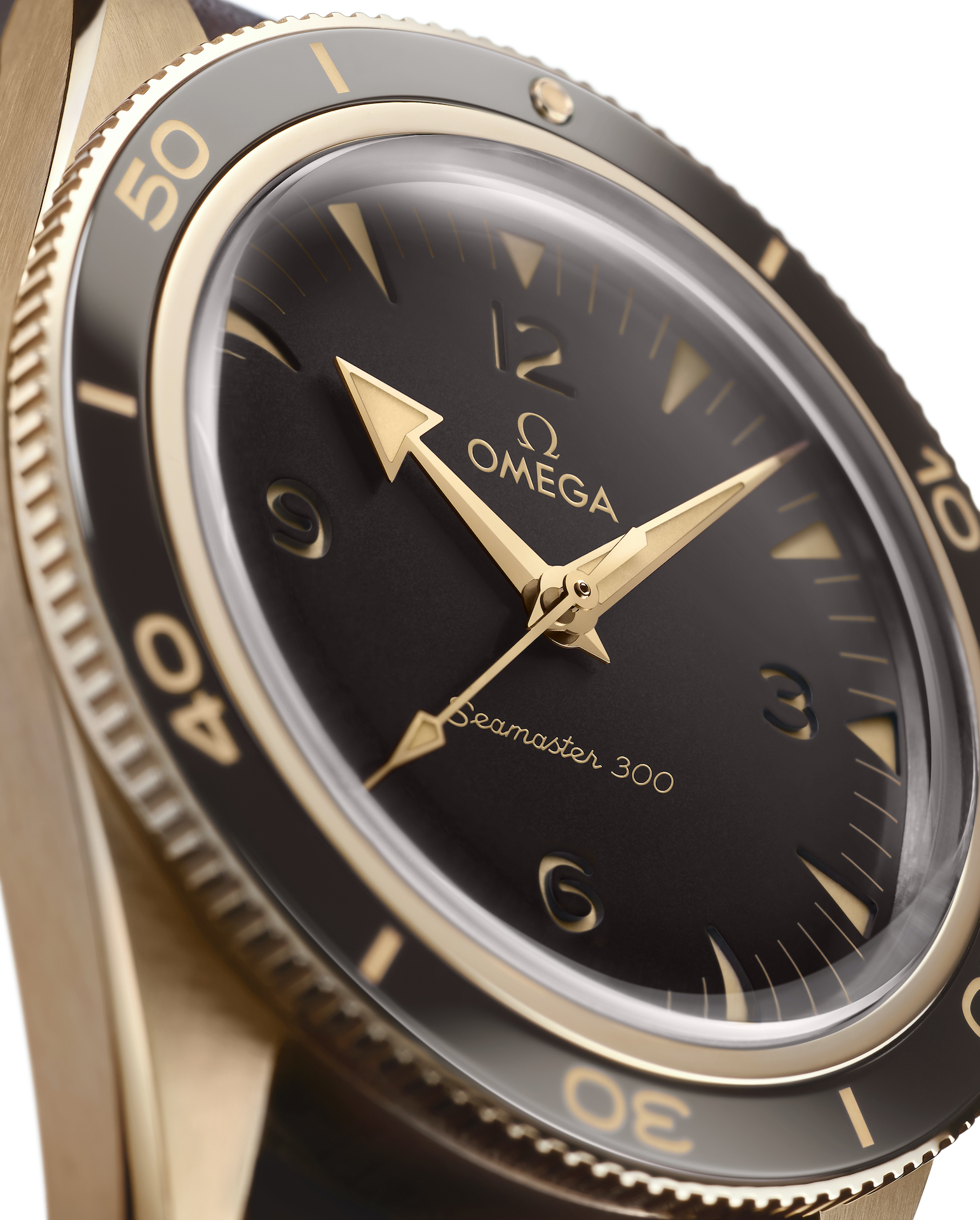 Omega Seamaster 300 Bronze-Gold