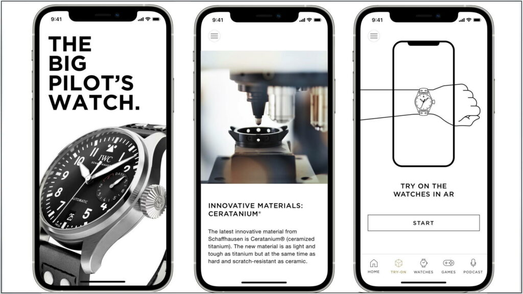 IWC Smartphone-App