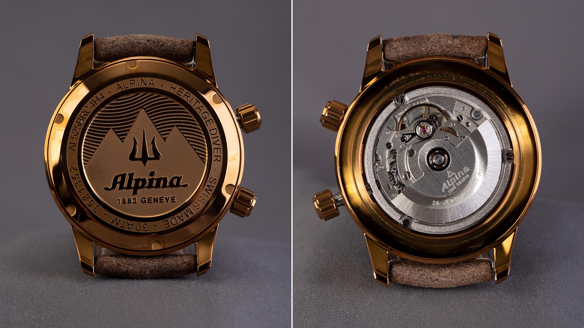 Alpina-Seastrong-Gehäuseboden-und-Uhrwerk