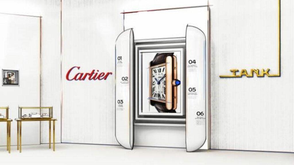 Cartier Ausstellung Tank