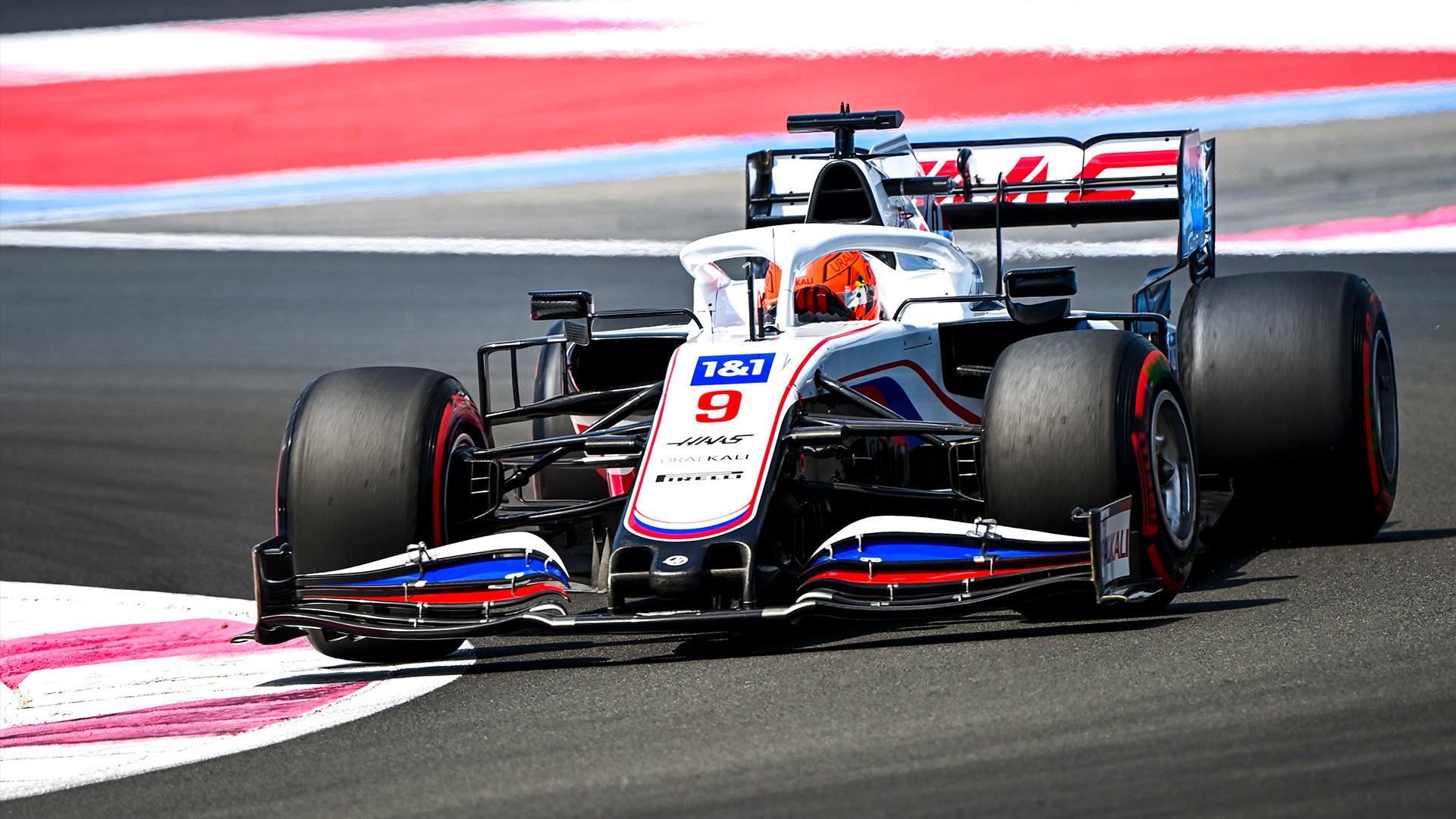 Nikita Dmitrijewitsch Mazepin aus dem F1 Rennstall Haas.
