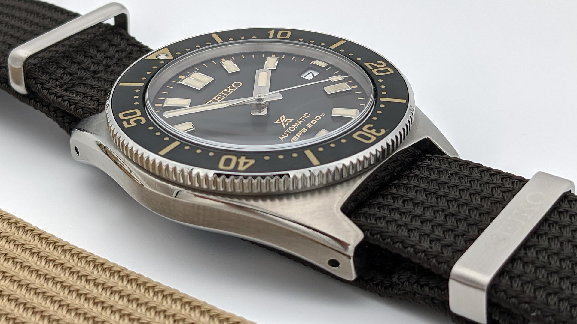 Seiko Prospex Vintage Diver Seitenansicht