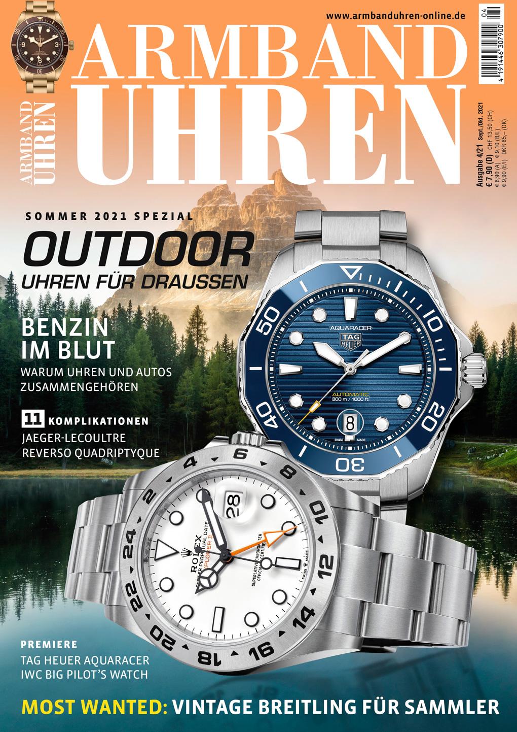 Armbanduhren Ausgabe 4/2021
