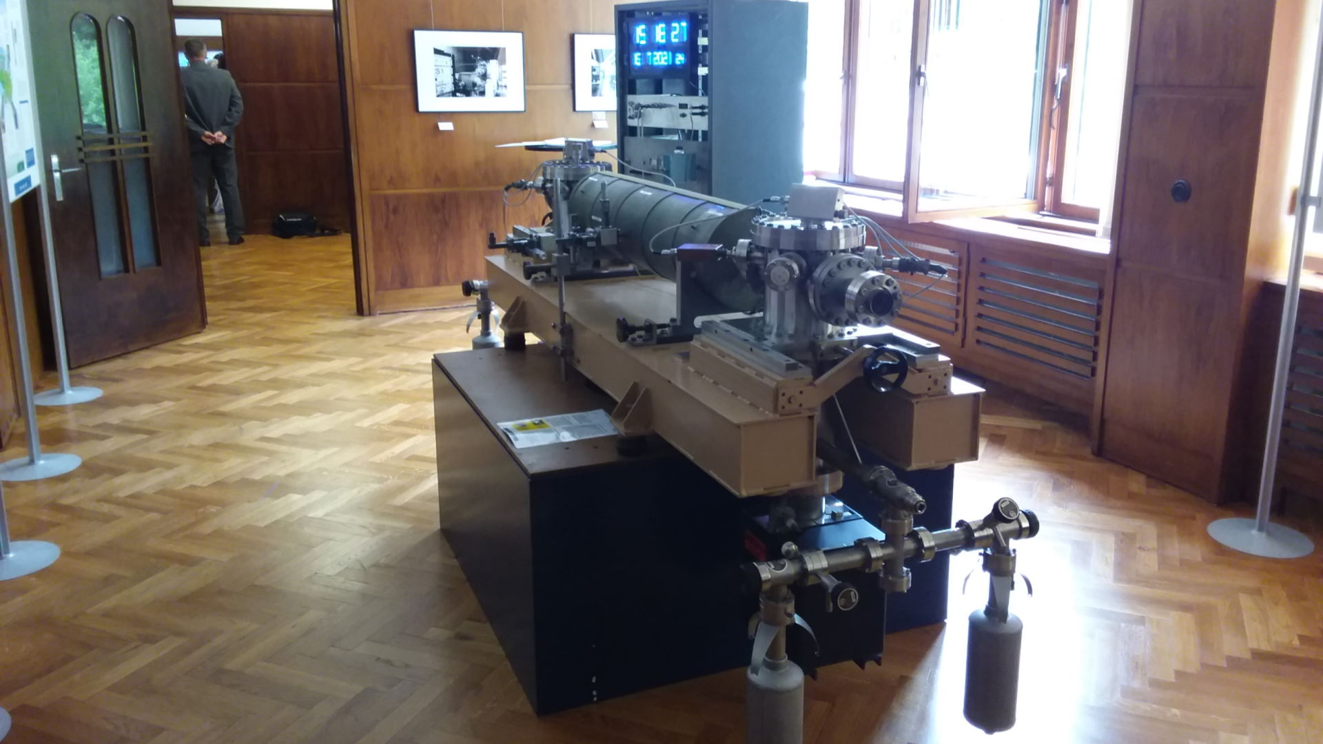 Ruhla Ausstellung Atomuhr