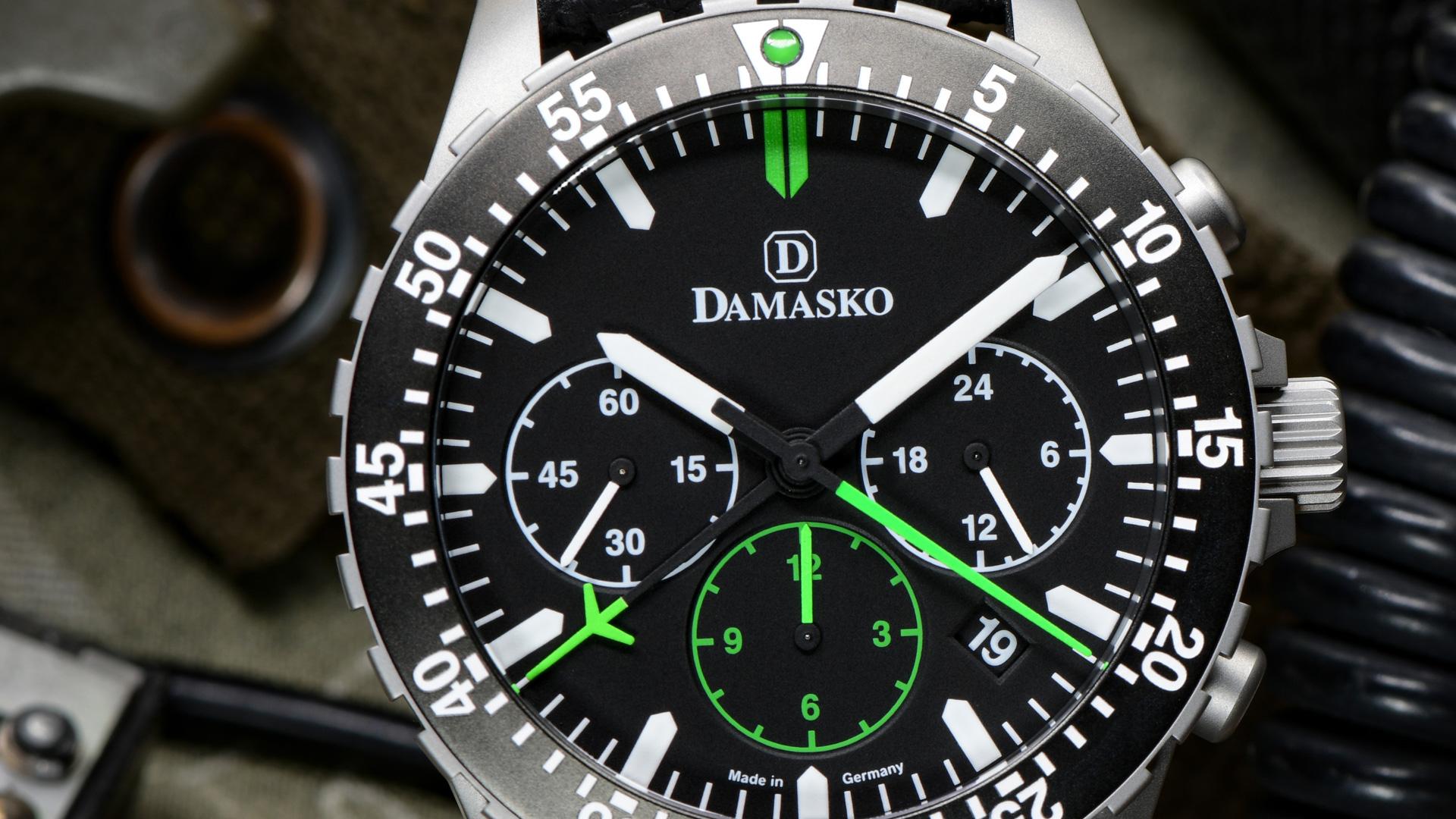 Damasko Chronograph DC 86