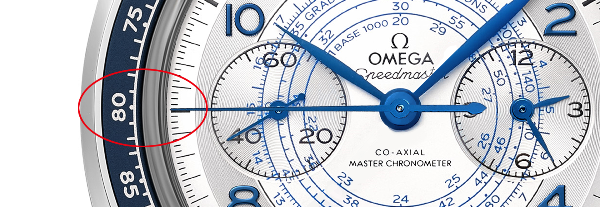 Tachymeter-Omega-Speedmaster-Chronoscope