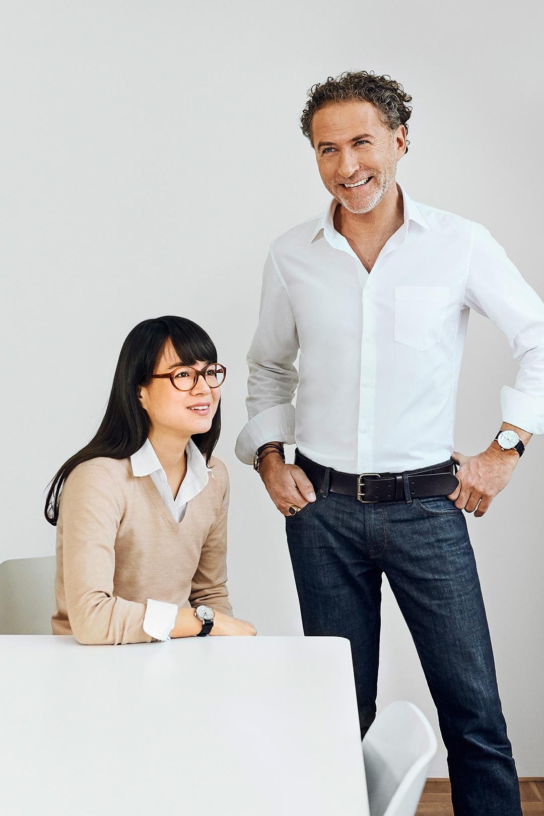 Designergespann aus Werner Aisslinger und Tina Bunyaprasit