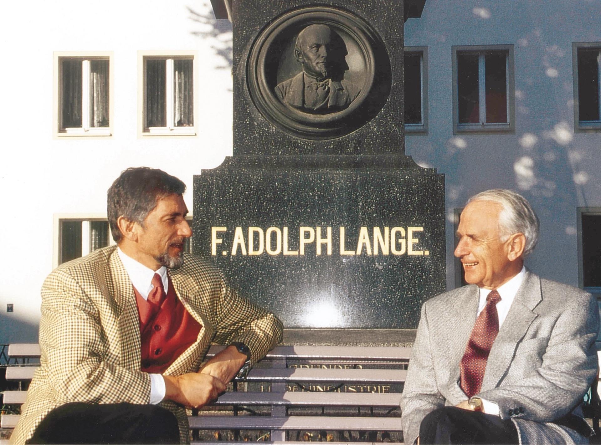 Günter Blümlein und Walter Lange