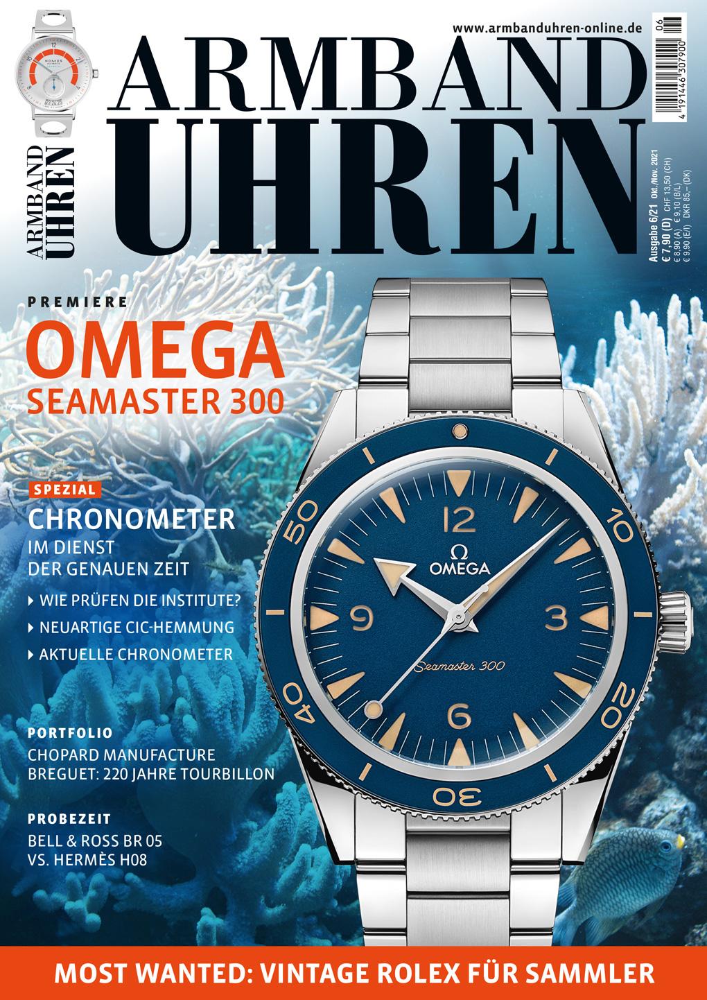 ARMBANDUHREN Magazin Ausgabe 6/2021