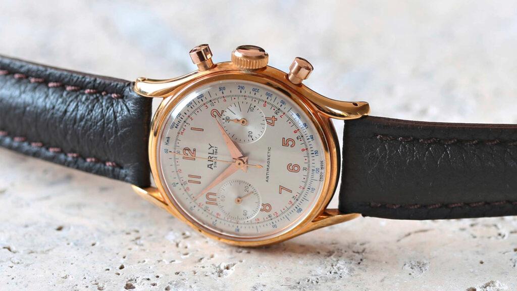 Chronograph-Burgos-Venus-Kaliber-175
